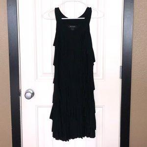 White House Black Market  Black dress size Large